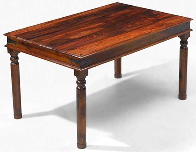 Mica Sheesham Thacket Small Dining Table