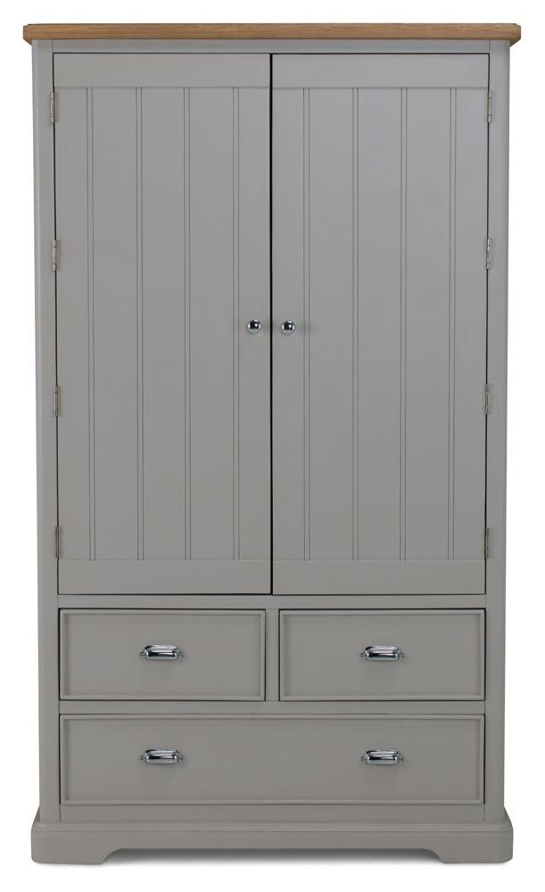 Shallotte Grey Painted Larder Unit