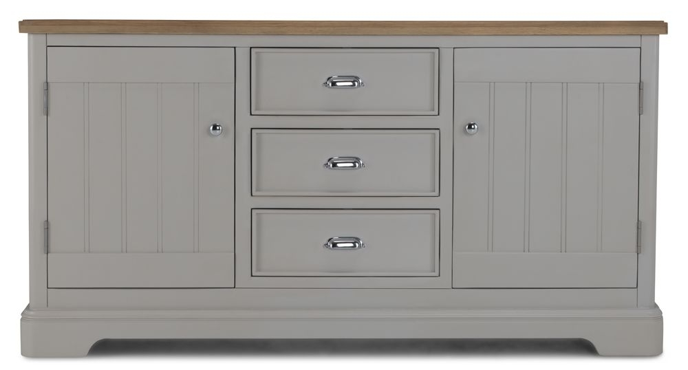 Shallotte Grey Painted Large Sideboard