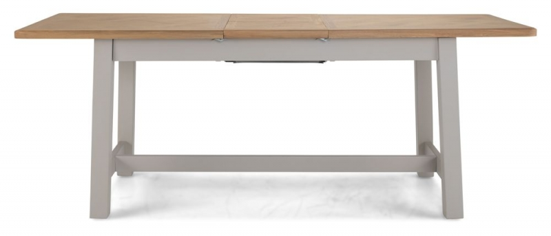Shallotte Grey Painted Extending Dining Table
