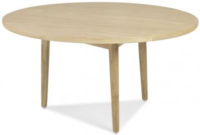 Skean Oak Circular Coffee Table