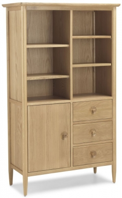 Skean Oak Display Cabinet