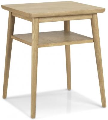 Skean Oak Lamp Table