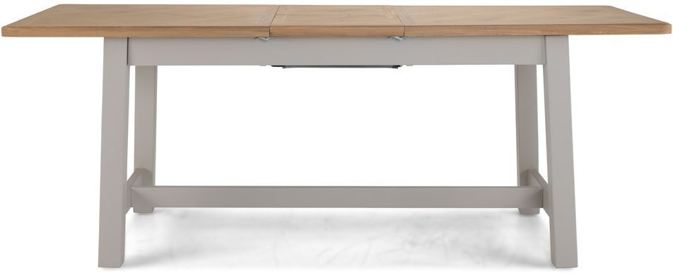 Sorrento Grey Painted Extending Dining Table