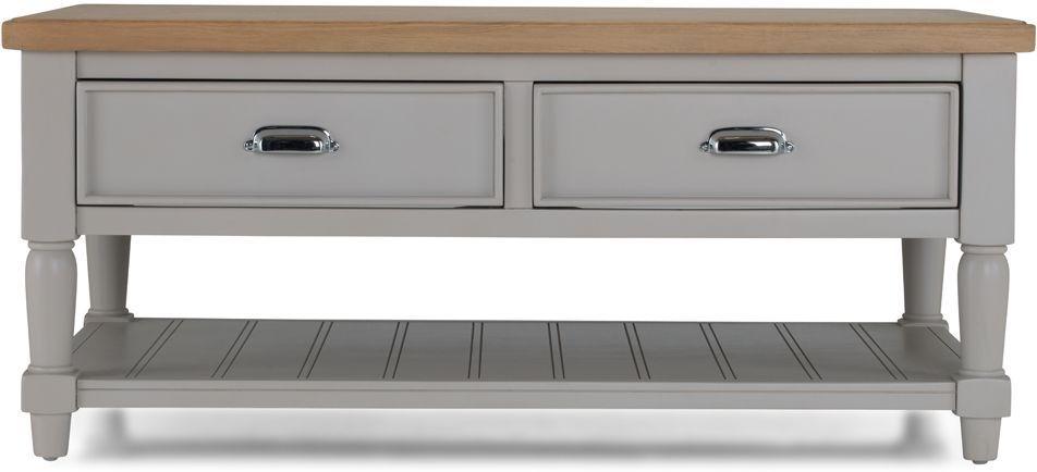 Sorrento Grey Painted Storage Coffee Table