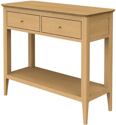 Wadsworth Oak Petite Console Table