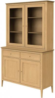 Wadsworth Solid Oak Standard Dresser - 2 Drawer 4 Door