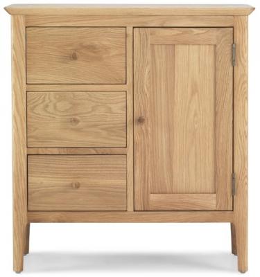 Wadsworth Oak Petite Hallway Cupboard