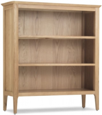 Wadsworth Oak Low Bookcase