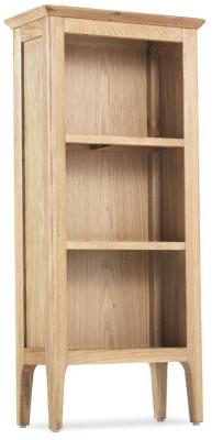 Wadsworth Oak Petite CD Bookcase