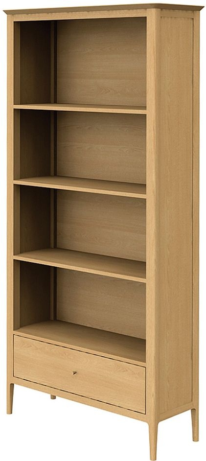 Wadsworth Oak Large Bookcase