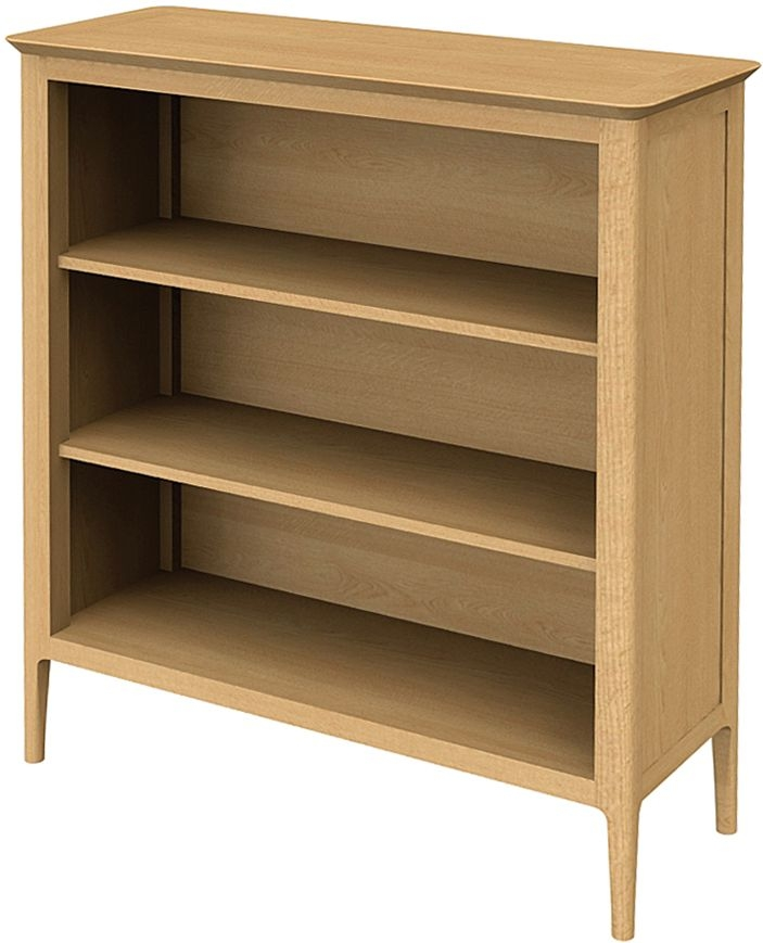 Wadsworth Oak Low Bookcase