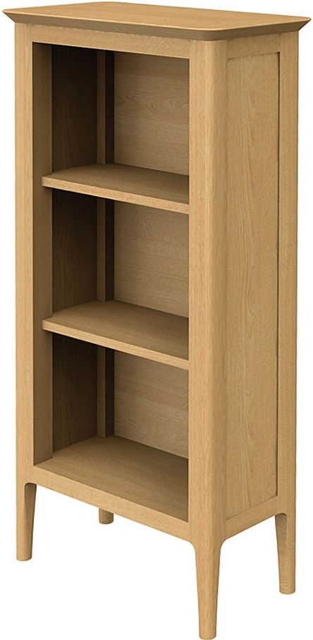 Wadsworth Oak Petite CD Bookcase