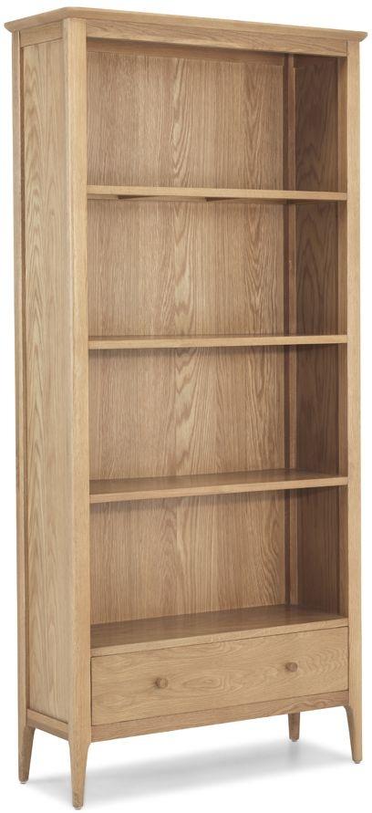 Wadsworth Oak Large Bookcase