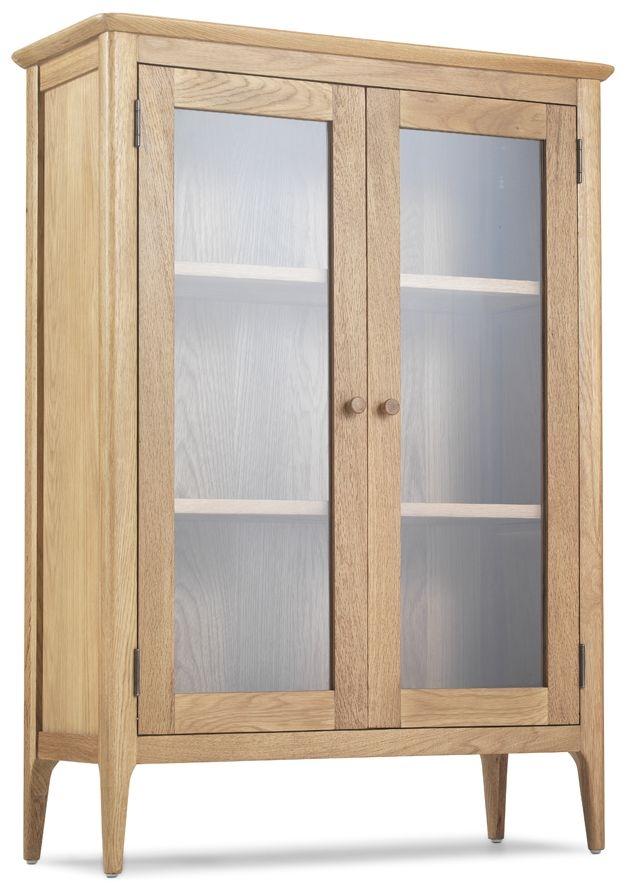 Wadsworth Oak Glazed Cabinet