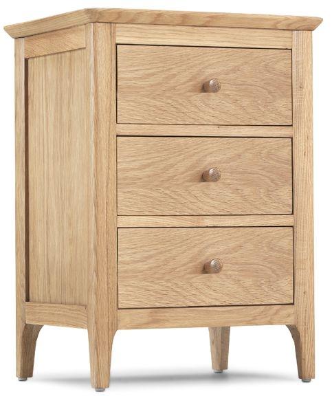 Wadsworth Oak Bedside Cabinet