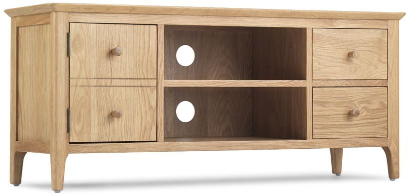 Wadsworth Oak Wide TV Unit
