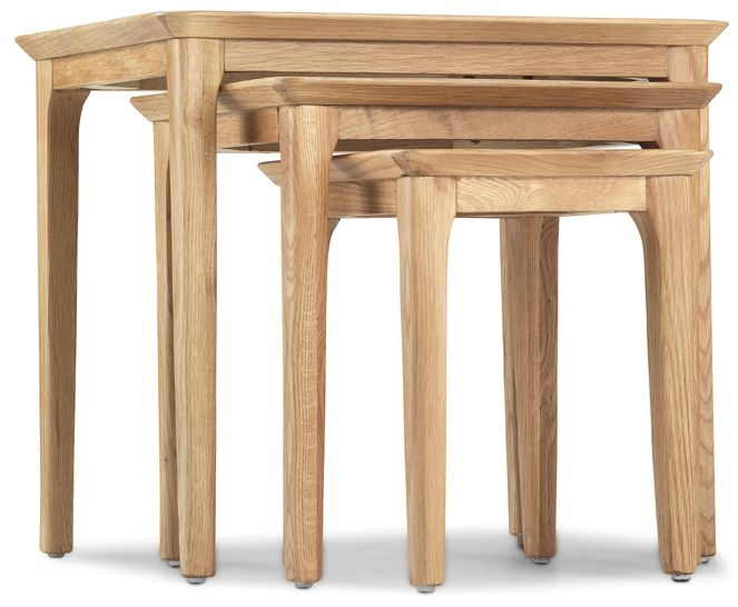 Wadsworth Oak Nest of Tables