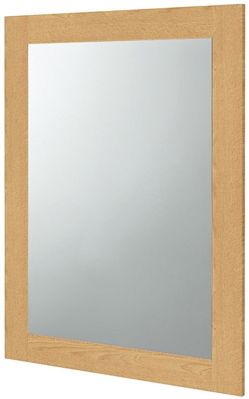 Wadsworth Oak Rectangular Mirror - 60cm x 90cm
