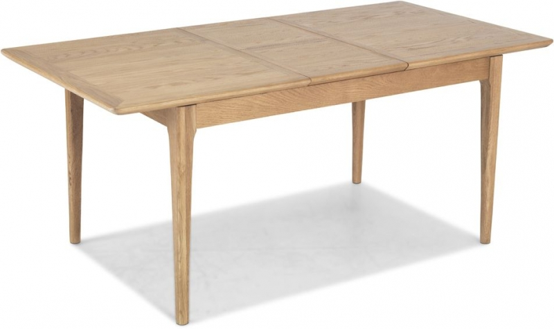 Wadsworth Oak Extending Large Dining Table