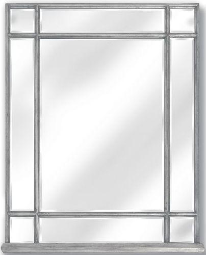 Hill Interiors Belfry Silver Rectangular Portrait Mirror
