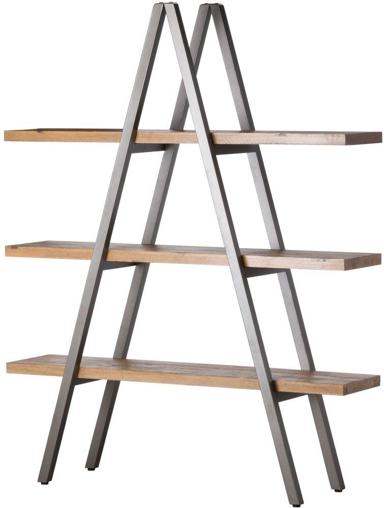 Hill Interiors Draftsman Solid Pine Display Shelf