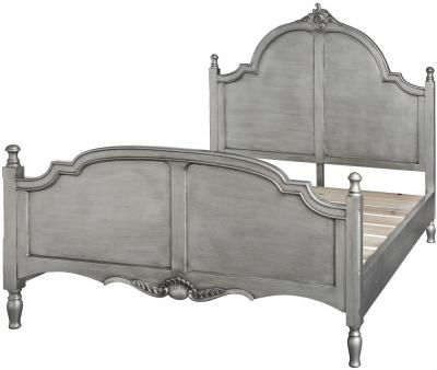 Hill Interiors Estelle Silver Leaf 5ft King Size Bed