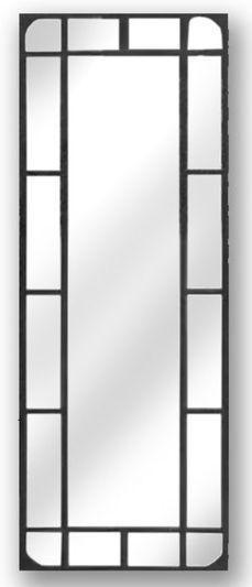 Photo of Hill interiors rectangular iron garden mirror - tall