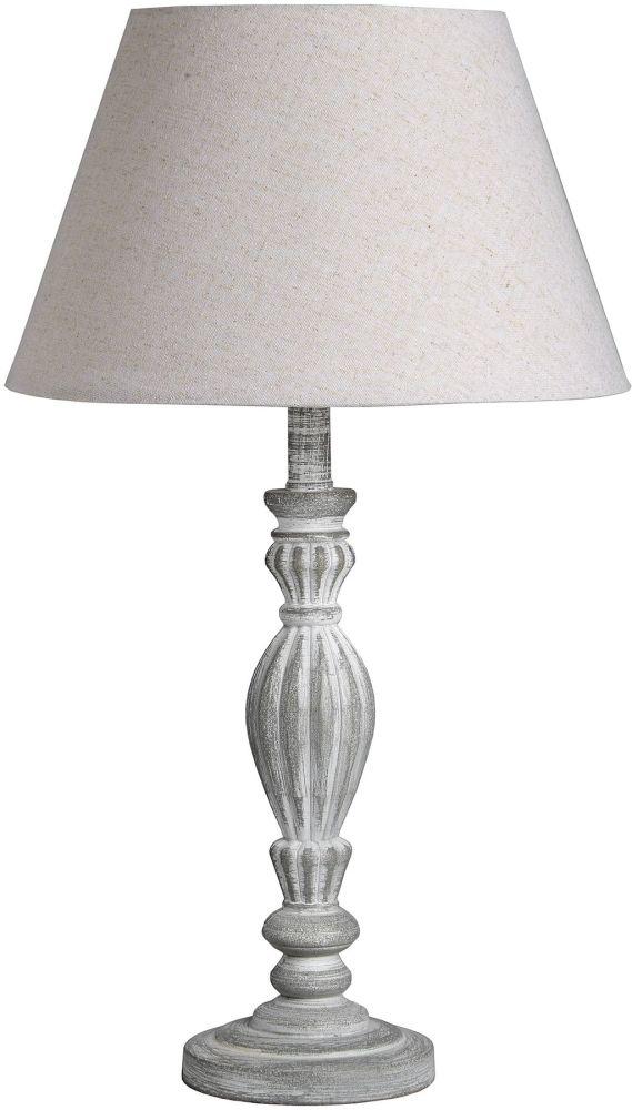 Hill Interiors Aegina Beige Table Lamp