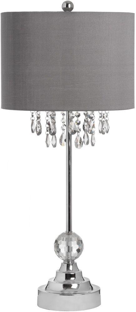 Hill Interiors Naples Chrome Table Lamp