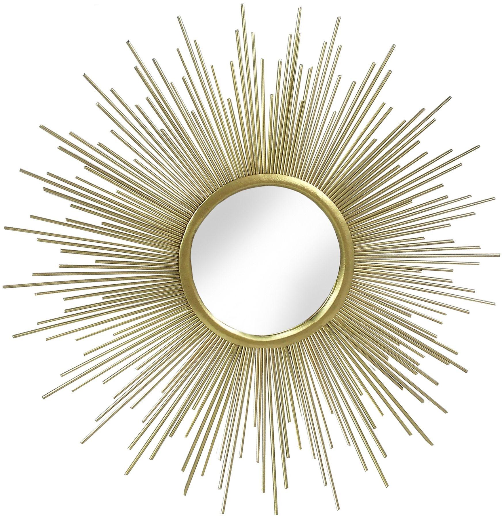 Hill Interiors Rising Sun Gold Metal Wall Art Mirror : 3 Rising Sun Gold Metal Wall Art Mirror from furniturecompare.uk size 1751 x 1800 jpeg 1345kB