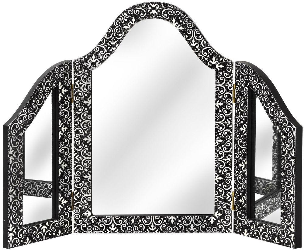 Hill Interiors Marrakech 3 Way Dressing Mirror