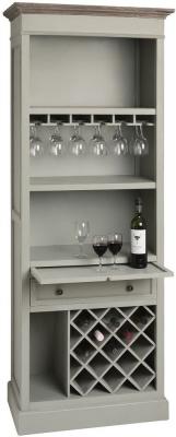 Hill Interiors New Lyon Tall Drinks Cabinet