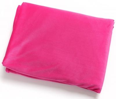 Hill Interiors Pink Velvet Throw