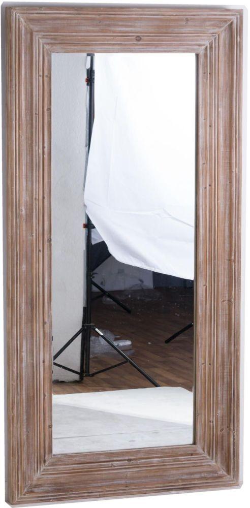 Hill Interiors The Harewood Rectangular Leaner Mirror - 100cm x 200cm