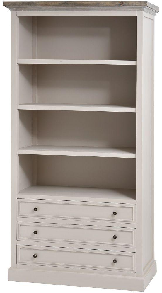 Hill Interiors Studley Mushroom Grey Bookcase