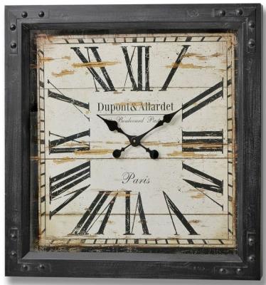 Hill Interior Dupont and Allardet Paris Iron Clock