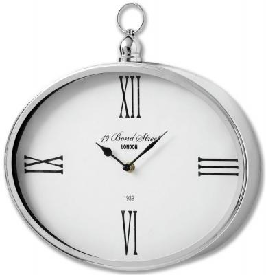 Hill Interiors Bond Street London Oval Clock