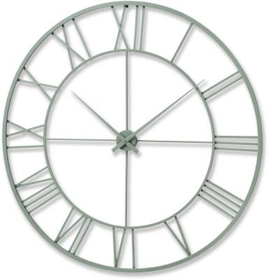 Hill Interiors Outdoor Metal Framed Clock