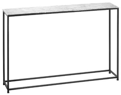 Hill Interiors Cast Silver Console Table