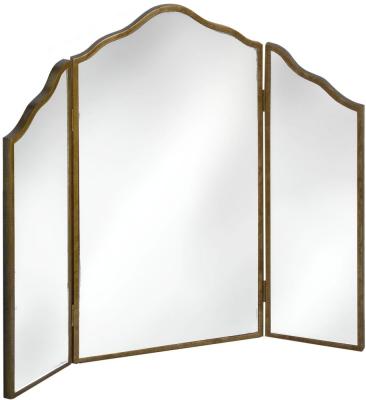Hill Interiors Venetian Mirrored 3 Way Dressing Table Mirror