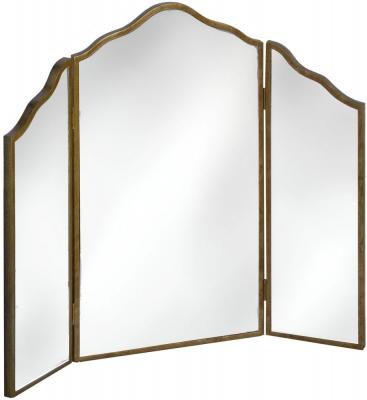 Hill Interiors Venetian Mirrored Dressing Table Mirror - 3 Way