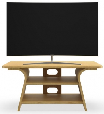 Tom Schneider Chloe 1000 Oak Small TV Stand