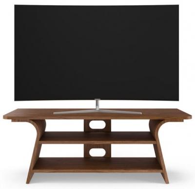 Tom Schneider Chloe 1250 Walnut Medium TV Stand