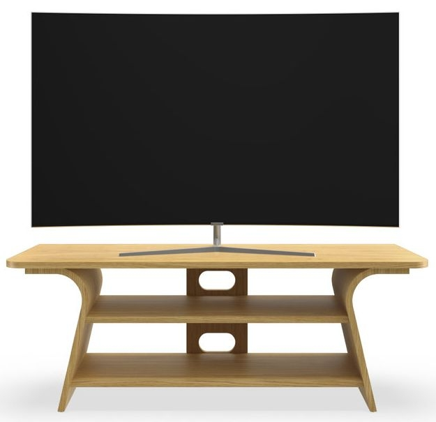 Tom Schneider Chloe 1250 Oak Medium TV Stand