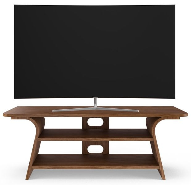 Tom Schneider Chloe 1250 Walnut Medium TV Stand