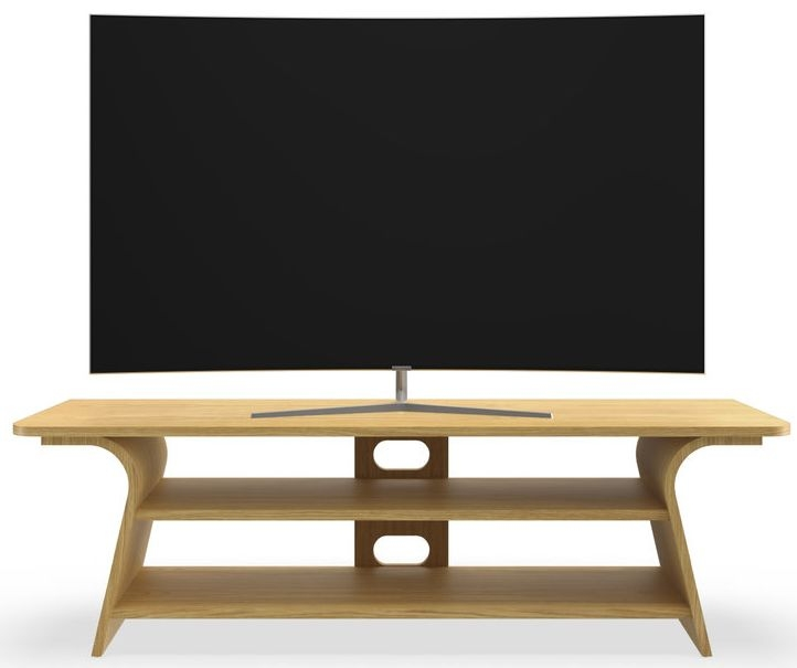 Tom Schneider Chloe 1500 Oak Large TV Stand