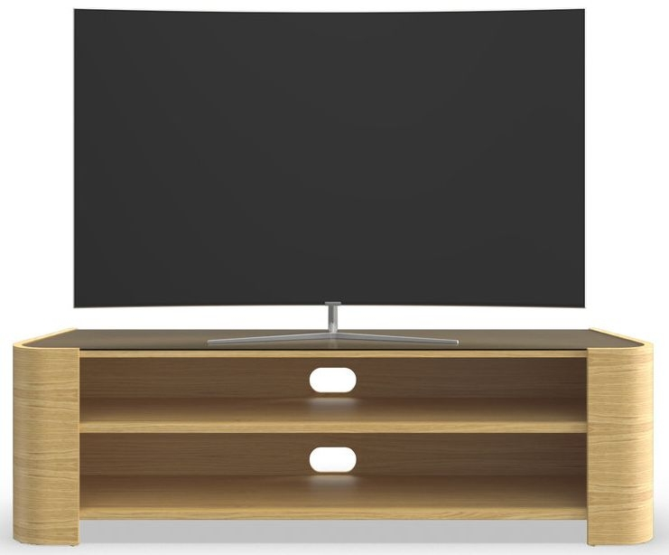 Tom Schneider Cruz 1500 Oak Large TV Stand