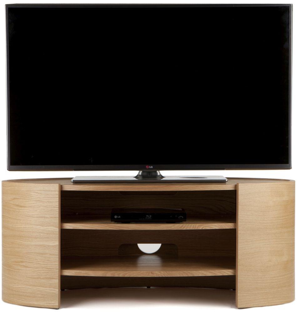 Tom Schneider Elliptic 1100 Oak TV Stand