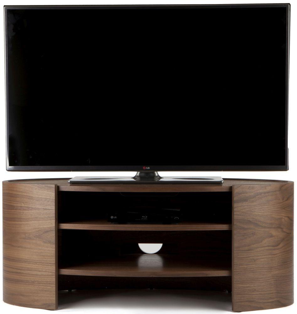 Tom Schneider Elliptic 1100 Walnut TV Stand